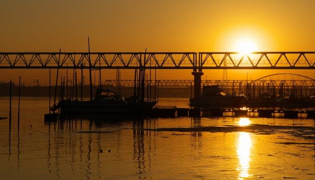 河口の朝・3_f0018464_1804415.jpg