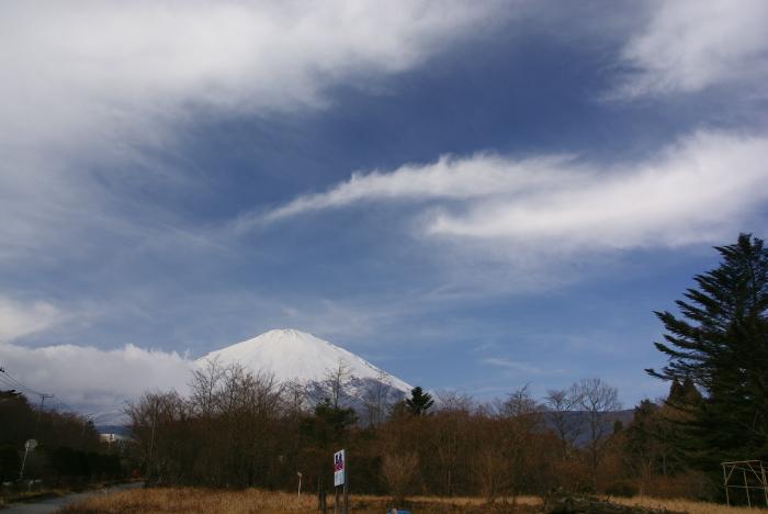"""雪の富士山 """"小山より""""_e0077521_0152641.jpg"""