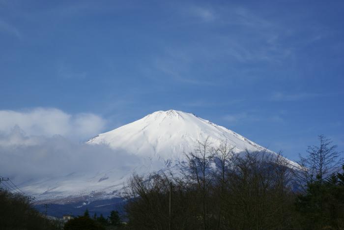 """雪の富士山 """"小山より""""_e0077521_015469.jpg"""