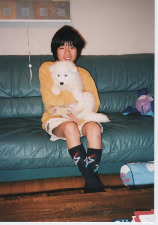子犬時代のレオ_f0128542_23234833.jpg
