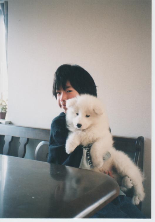 子犬時代のレオ_f0128542_23291629.jpg
