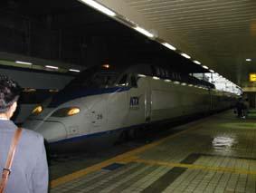 韓国 KTXに乗る_a0084343_1642383.jpg