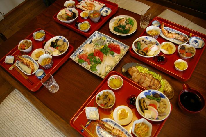 07年の元旦も北鎌倉の自宅にファミリーが全員集結_c0014967_17295714.jpg