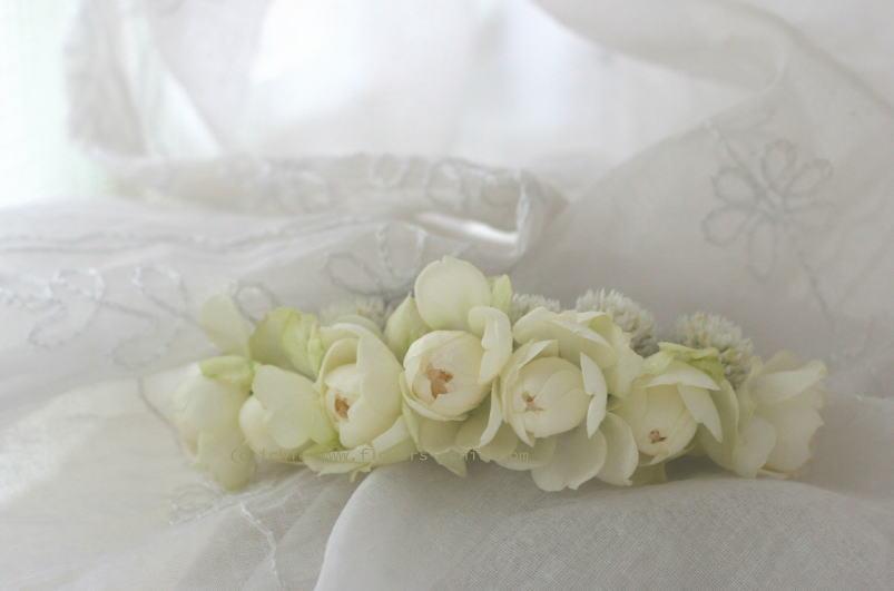 花のカチューシャとブーケ マハ _a0042928_22454859.jpg