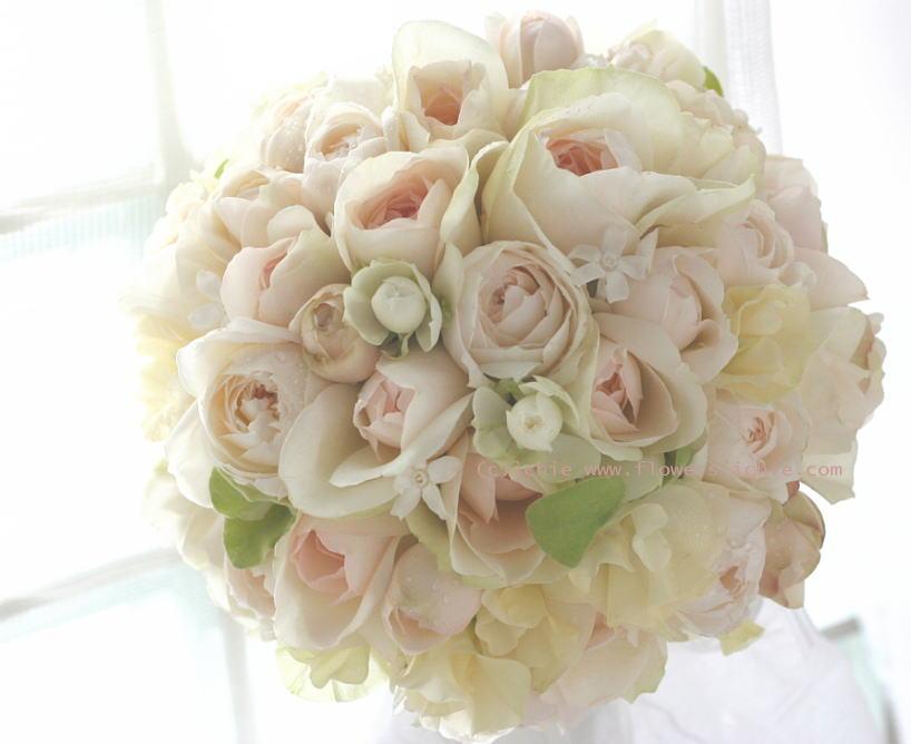 花のカチューシャとブーケ マハ _a0042928_2246381.jpg
