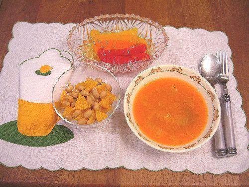 春の七草とオレンジな気持ち と 低温スチーム調理☆..。.゚。*・。♡ _a0053662_9315819.jpg