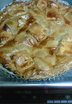 Apple pie♪_f0116812_19215544.jpg