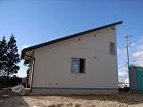 「3.5間角の家」 足場がはずれました。 _f0059988_1513972.jpg