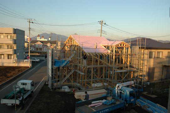 モデルハウスの進捗状況!_a0059217_18183729.jpg