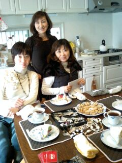 Tea party♪_f0126121_20193260.jpg