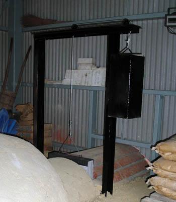 窖窯を作る/ダンパー設置_c0081499_18341564.jpg