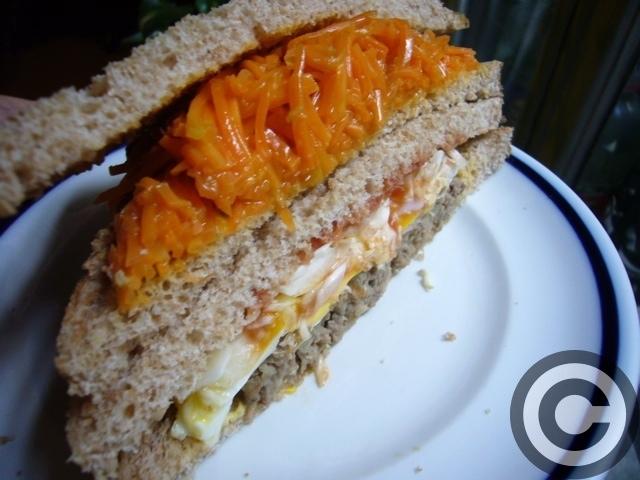 ■ウチで食すサンドイッチ(PARIS)_a0014299_2054994.jpg