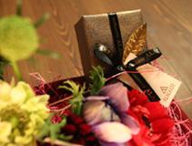 「バレンタイン・フラワーワークショップ」_c0073813_16573983.jpg