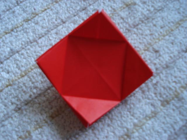 すべての折り紙 折り紙こま一枚 : 折り紙のこま : 埼玉でのんびり ...
