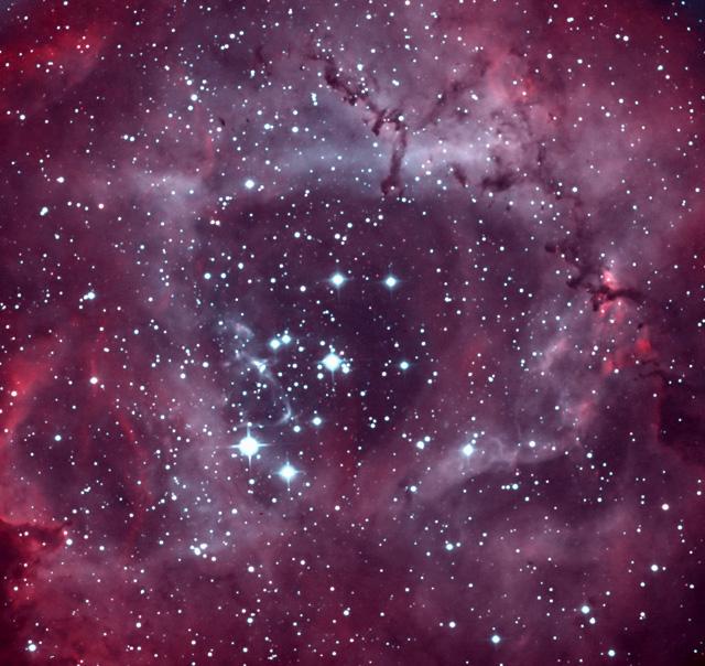 ナローの画像処理は難しい バラ星雲_c0061727_252239.jpg