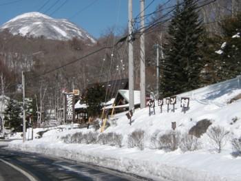 ペンション村の入り口 目印は山の駅_d0102327_20483367.jpg