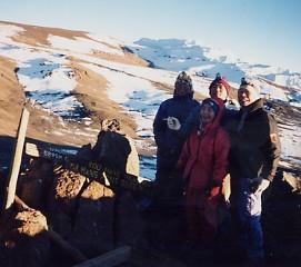 キリマンジャロ登頂記 (9) ウフルピーク(標高5895m)登頂_c0011649_5472783.jpg