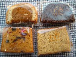 エーグルドゥースの焼き菓子色々。_c0005672_1859930.jpg