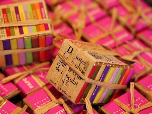 フランス プラリュのショコラ*    (バレンタインセレクト*Vol 1_d0034447_914265.jpg