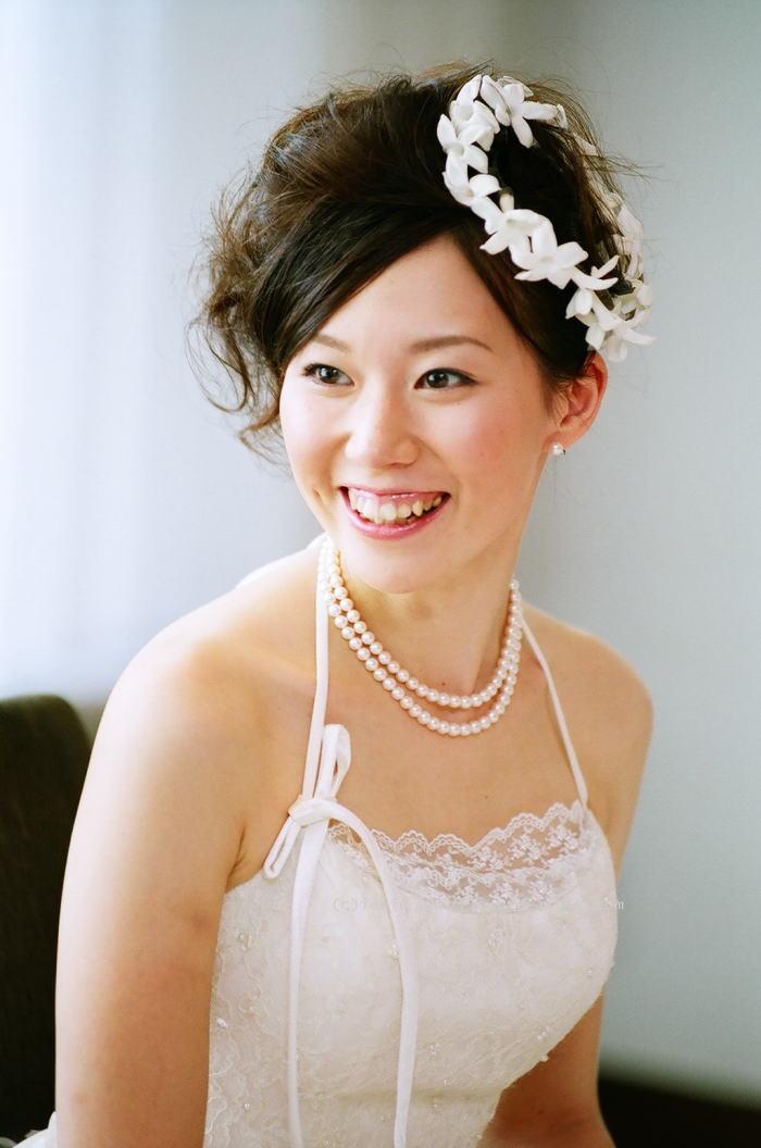 ラマージュ様の装花 花嫁様からのメール ローズボール _a0042928_0474758.jpg