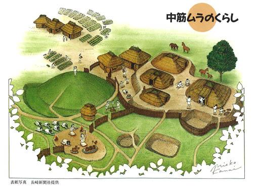 初源な家08:中筋遺跡と黒井峰遺跡、土塗り込め3重屋根_e0054299_13263880.jpg