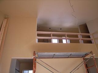 「3.5間角の家」 内装工事_f0059988_11243133.jpg