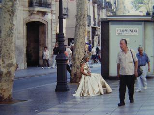バルセロナの町_a0079995_204738.jpg
