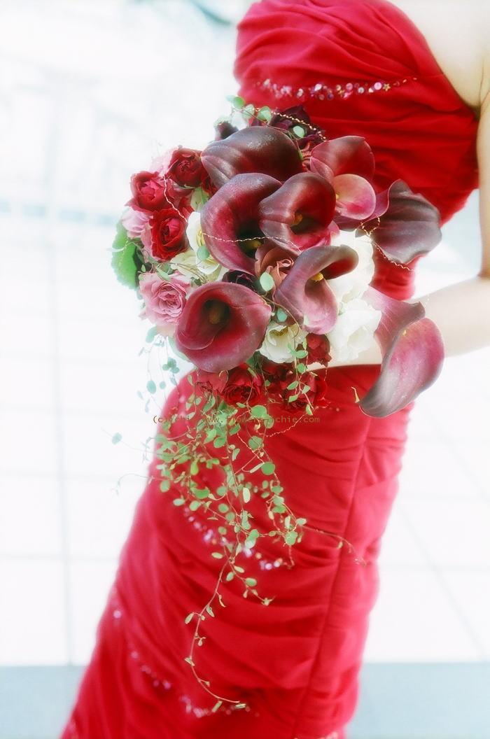 ラマージュ様の装花 花嫁様からのメール ローズボール3_a0042928_16496.jpg