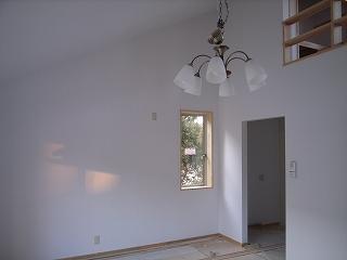 「3.5間角の家」 照明器具付_f0059988_17421636.jpg