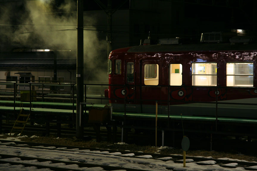 6 Jan 2007 会津若松駅_b0023523_22334422.jpg