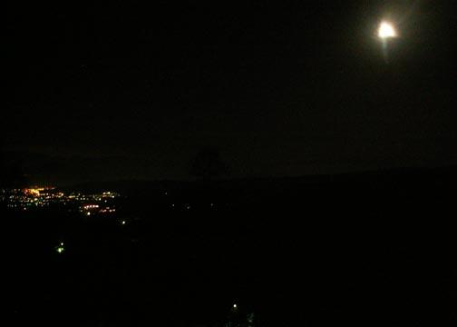 宵の明星、夜半の月_d0102327_11535011.jpg