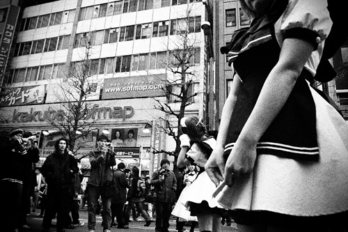 「歩行者天国」 柳 悠介_c0098759_235419.jpg