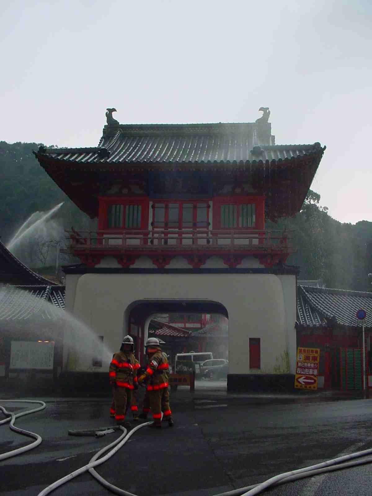 文化財防火訓練_f0040201_03452.jpg