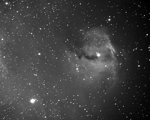 わし星雲 IC2177 の頭 Ha_c0061727_1274673.jpg