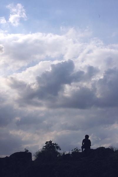 「あの空の向こうへ」 伊路見 健治_c0098759_2324681.jpg