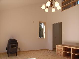 「3.5間角の家」 ペレットストーブ_f0059988_1804627.jpg