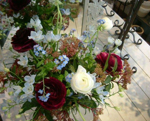 オークリーフ花の教室(森さんの作品)_f0049672_13354935.jpg