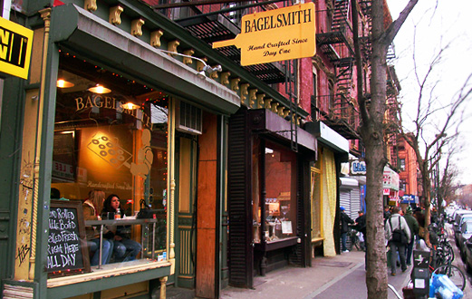 ニューヨークのべーグル屋さん(3) ベーグル・スミス(Bagel Smith)_b0007805_13464921.jpg