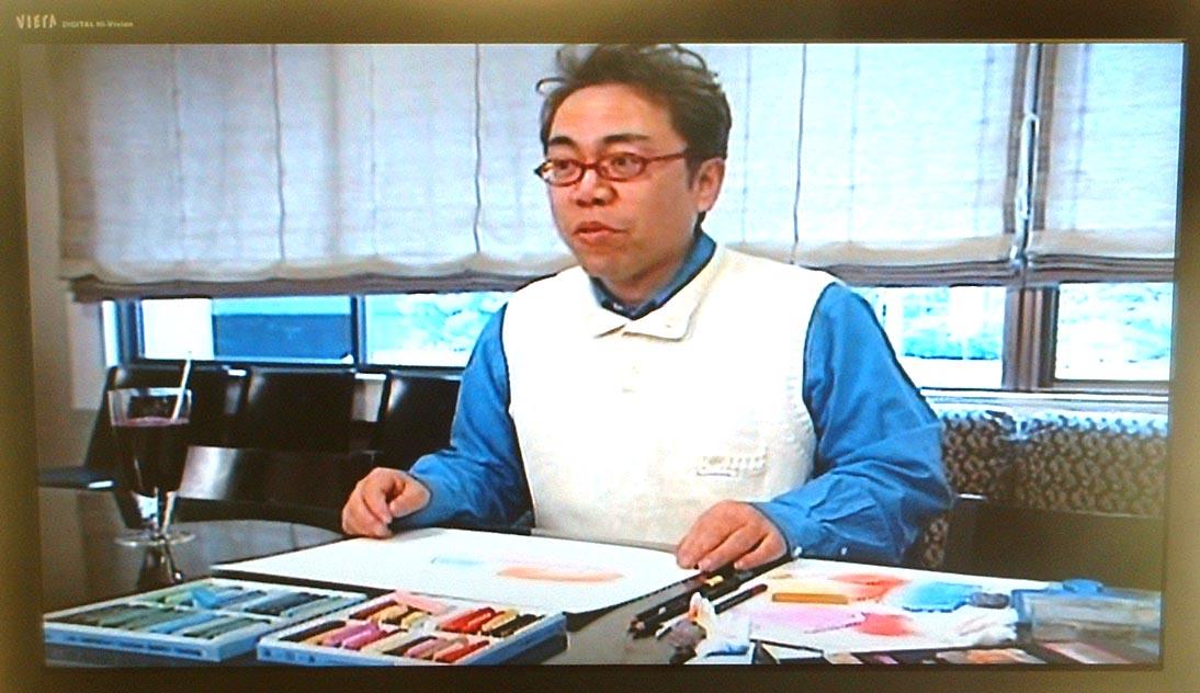 DVDパステルシャインアート作画の様子_e0082852_14262416.jpg