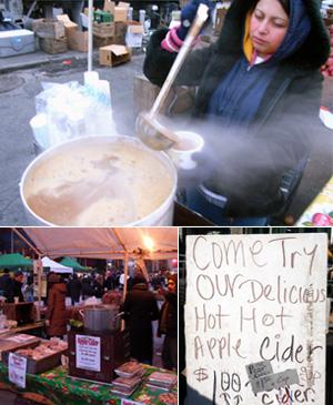 NYの冬の味、ホット・アップルサイダー_b0007805_10303747.jpg