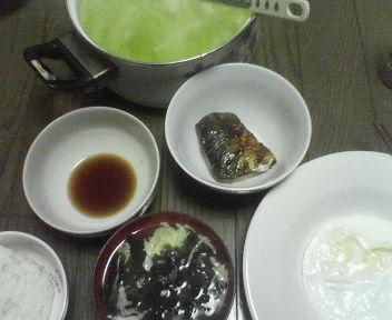ヘルシー料理だお_e0114246_0543436.jpg