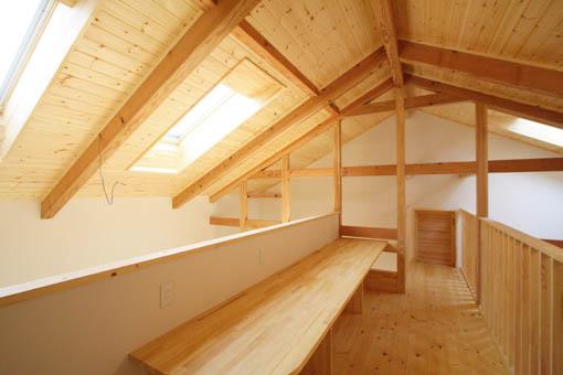 Q1前沢の家13:完成3、2階ホール_e0054299_8475497.jpg