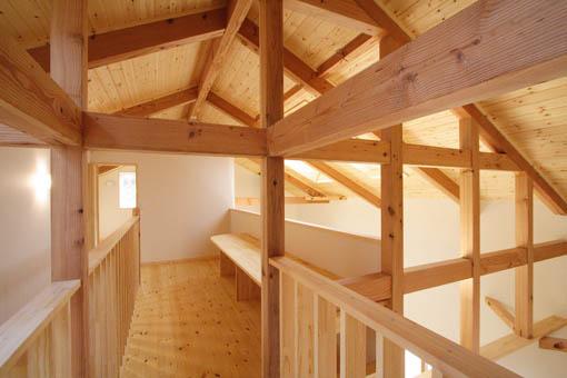 Q1前沢の家13:完成3、2階ホール_e0054299_848773.jpg