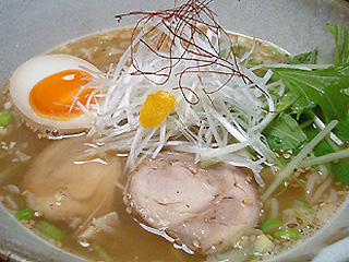 鶏白湯@自作らーめん (醤油&塩)_f0080612_2026263.jpg