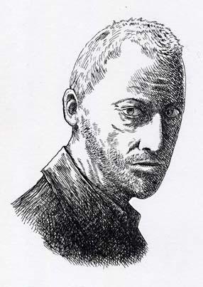 ペンによるドローイング「男性の肖像」_a0093332_1918411.jpg