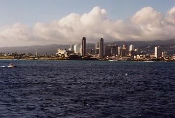 ハワイの風景 (2) 真珠湾サンセットクルーズ_c0011649_641621.jpg