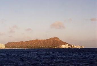 ハワイの風景 (2) 真珠湾サンセットクルーズ_c0011649_652682.jpg