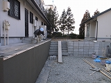 「3.5間角の家」 外構工事_f0059988_18114395.jpg