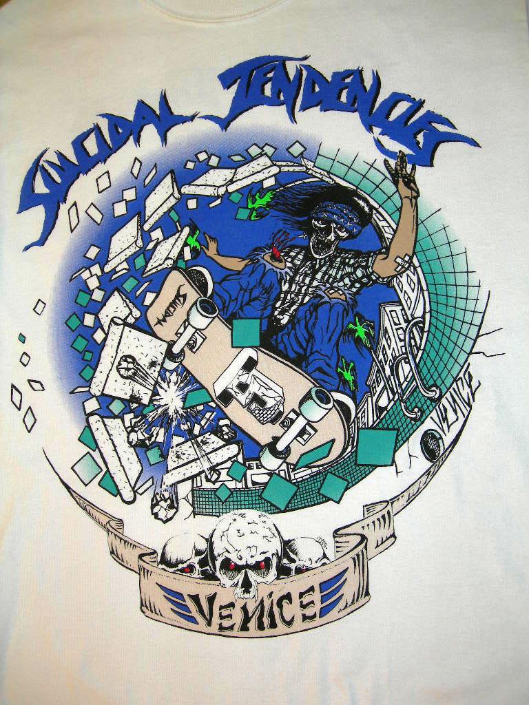 suicidal tendencies (スーサイダル テンデンシーズ)なTシャツ2_c0078333_19544094.jpg
