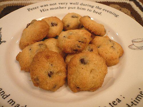 チョコチップクッキー♪..。.゚。*・。♡ _a0053662_1943175.jpg